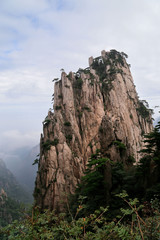 Rocks in the Haungshan National Park, China