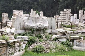 The Ruins of the Yuanmingyuan, Beijing, China