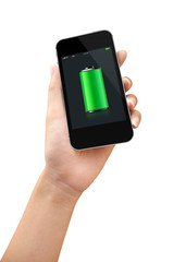 Smart Phone Full Battery