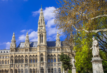 beautiful Vienna, City hall