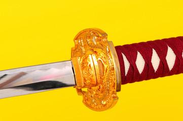 Samurai Sword Isolated