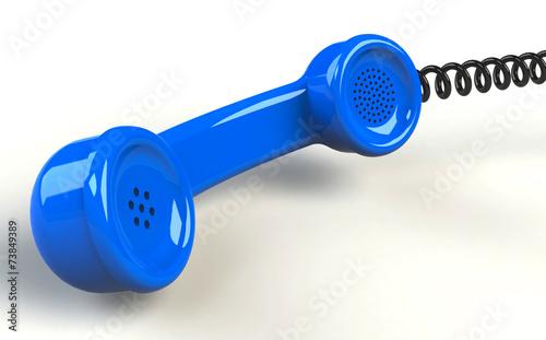 Telefon blau - 73849389