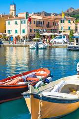 Elba island, marina of Porto Azzurro Village, Tuscany, Italy