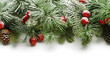 Christmas tree branches background - 73849782