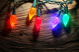 Fototapety Christmas lights