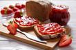 Delicious strawberry jam - 73849975