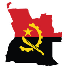 Flag of the Republic of Angola