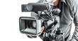 canvas print picture - Video operator