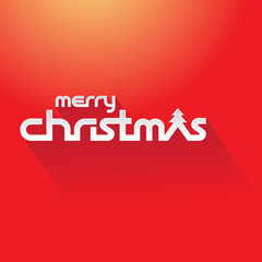 Merry Christmas Text Stock Illustration