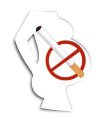Cigarette contre indiquée