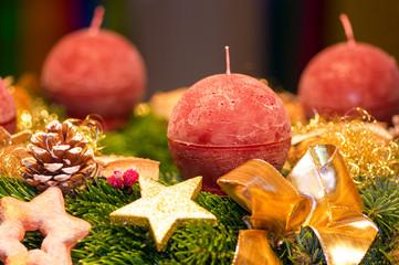 Weihnachten, Adventskranz