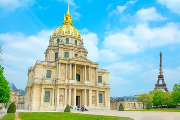 Hôtel des Invalides à Paris, France