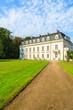Leinwanddruck Bild - Beautiful palace in Radziejowice village near Warsaw, Poland