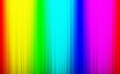 Rainbow light rays background template - Abstract lights