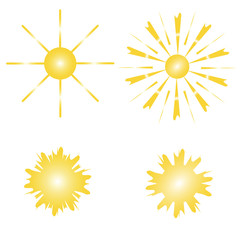 Set of the suns.