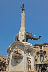 u Liotru, or the Fontana dell'Elefante
