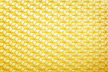 Wax blank for honeycomb