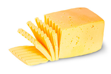 Piece Of Sliced Cheese
