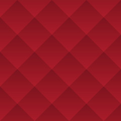 Abstract dark red geometric squares seamless pattern