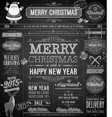 Christmas set - labels