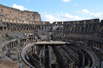 Coloseum, Rom, Herbst