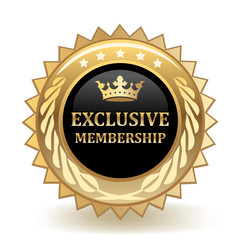 Exclusive Membership Badge