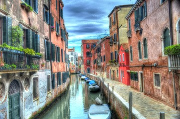 Venice Italy. HDR processed