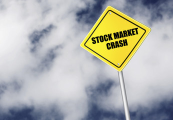 Stock market crash sign