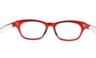 Eye glasses isolated on white