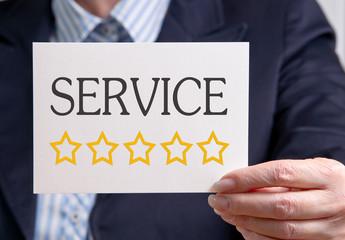 Service mit 5 Sternen - sehr gut