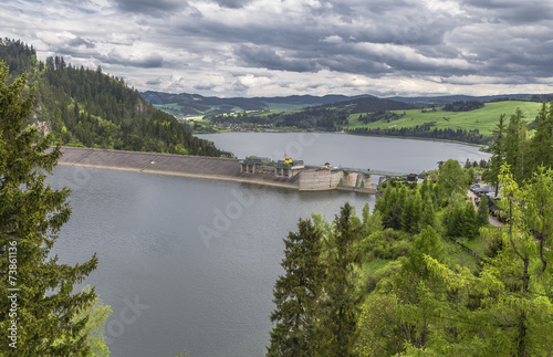 image of a dam on the river Dunajec - 73861136