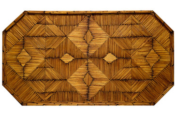 Pattern with old matchsticks