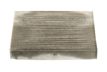 Air filter (with clipping path) isolated on white backgroud