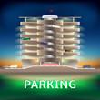 Parking night - 73861903
