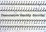 Dissociative identity disorder poster