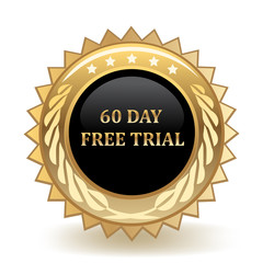 Sixty Day Free Trial Badge