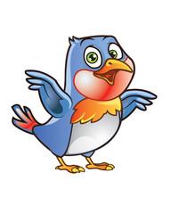 Robin Bird Mascot