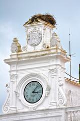 Llerena, Badajoz, reloj del Ayuntamiento, Extremadura