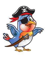 Robin Bird Pirate