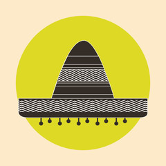 mexican hat  design