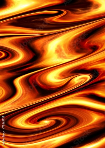 Aluminium Abstract wave Abstract Spirals