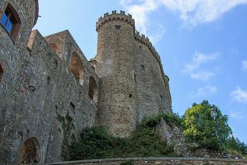 Fosdinovo ancient village near La Spezia