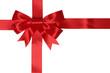 Geschenk Karte mit Schleife für Geschenke an Weihnachten oder G