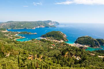 The bay of Palaiokastritsa. Corfu, Greece.