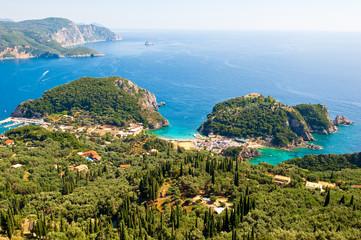 Palaiokastritsa. Corfu, Greece.