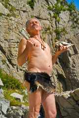 Man in loin-cloth 10