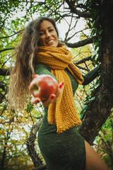 offer an apple