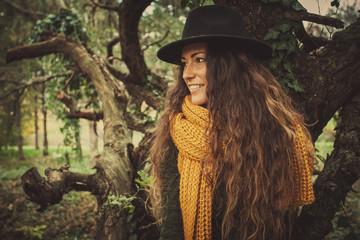 autumn winter fashion girl