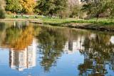 Fototapety Pond in Skaryszewski Park