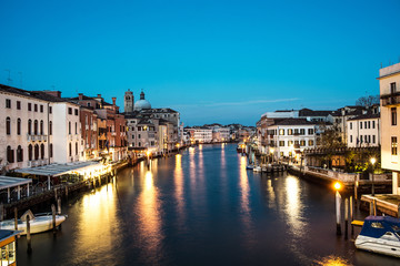 Grand Canal in sunset time, Venice